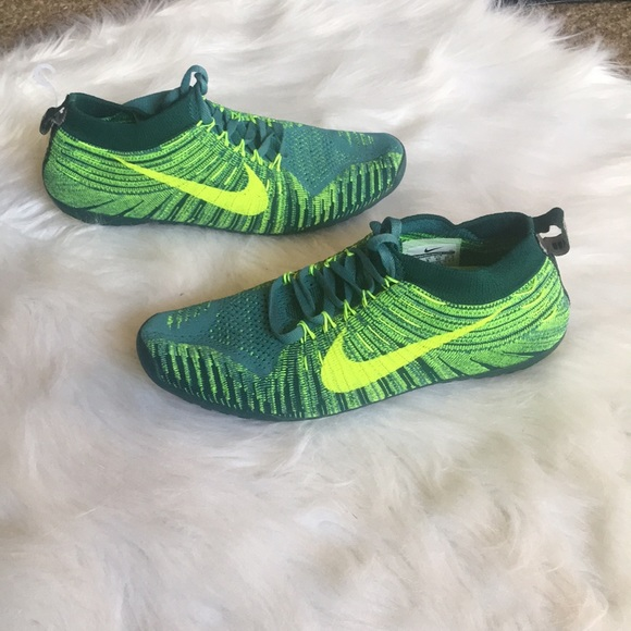 on sale d02d8 a1c17 Nike Free Hyperfeel Green Shoes Size 6. M 5b9bd7b6d6dc52e2a9f8c16a